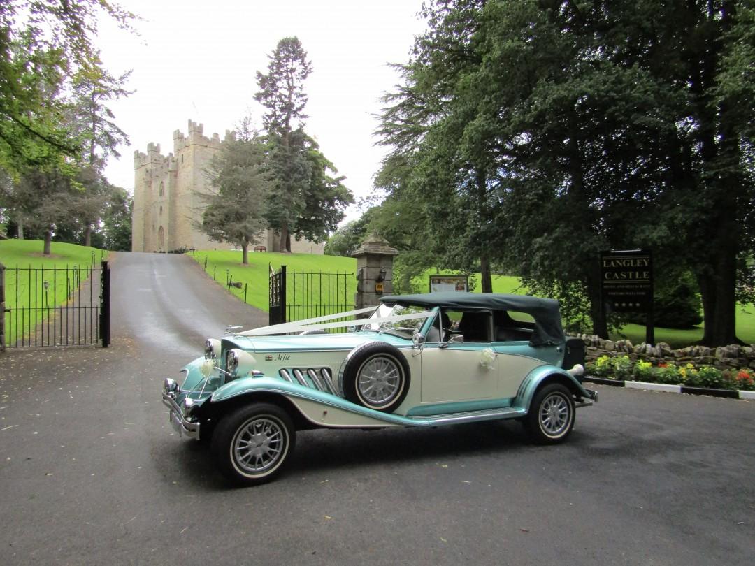 Alfie At Langley Castle