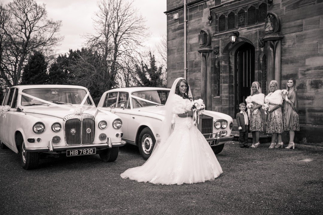 White Rolls Royce & Daimler Limousine