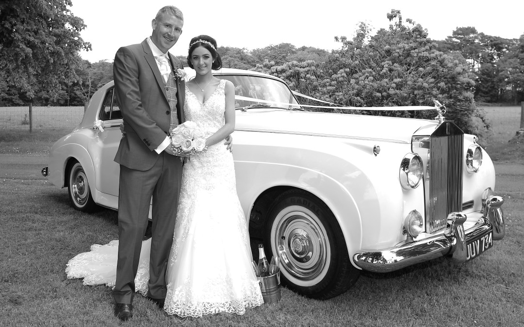 Mr & Mrs Hinde With Our Rolls Royce Cloud