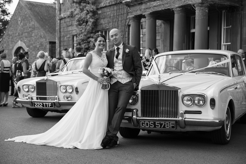 White Rolls Royce's