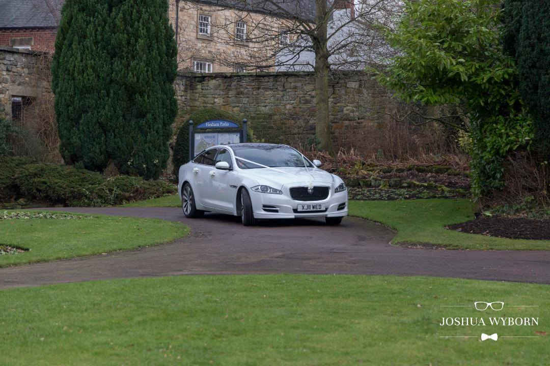 Jaguar XJ (seats 4 passengers) Wedding Car Hire