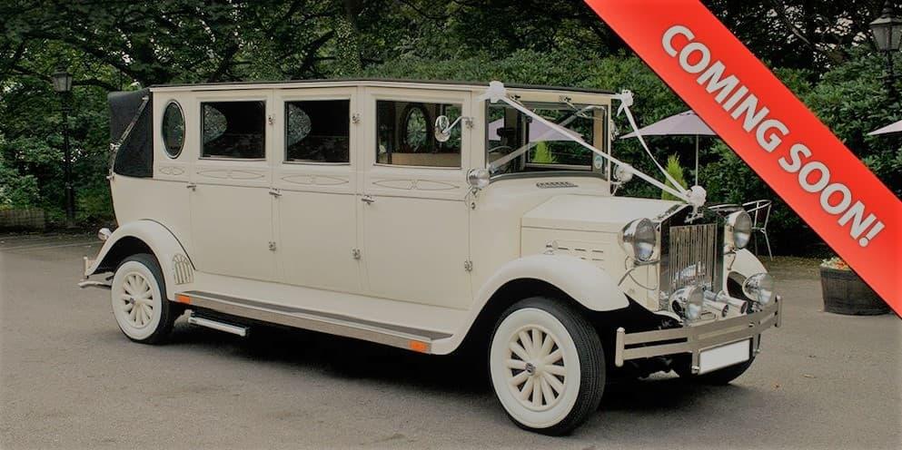 Grand Imperial classic wedding car