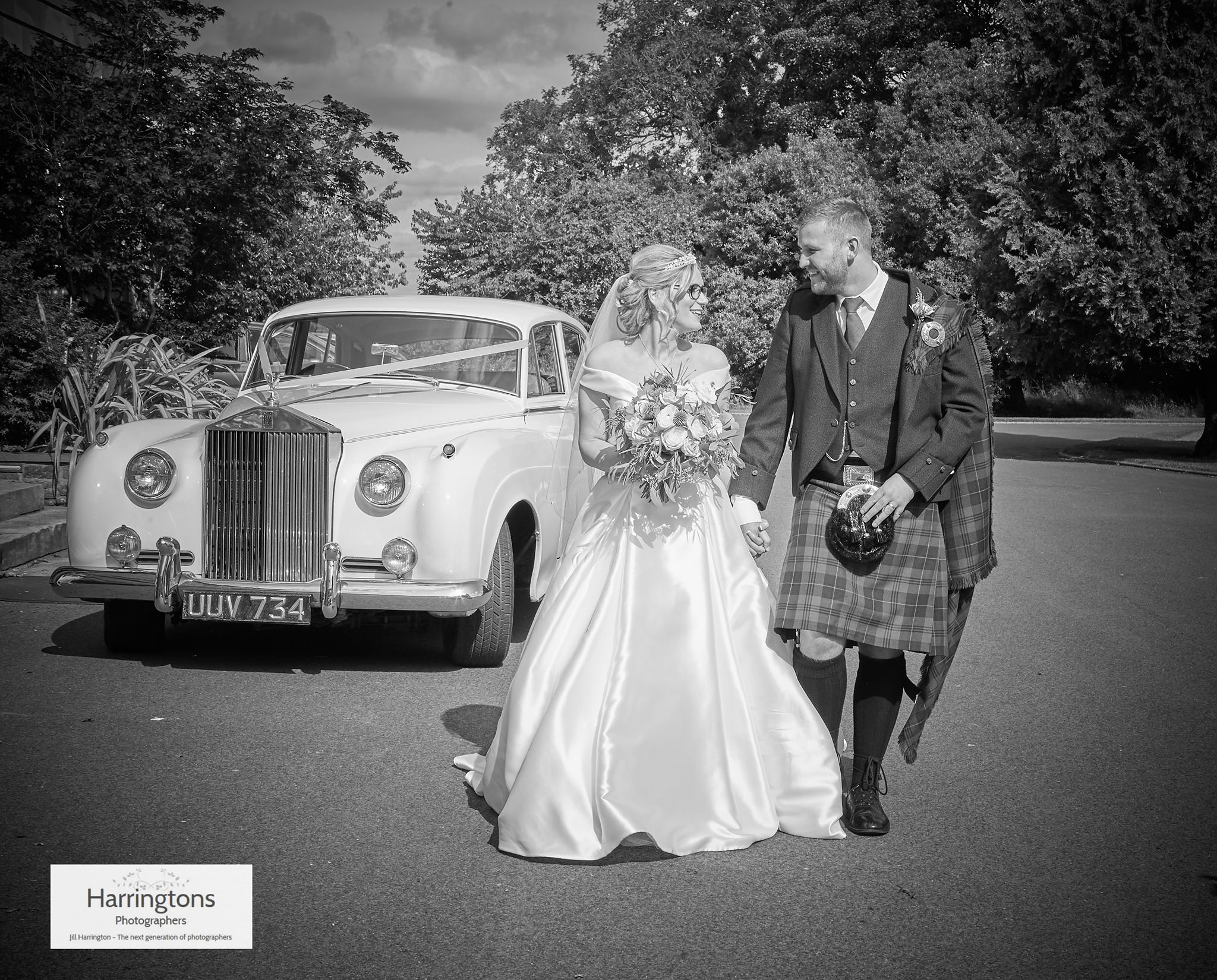 1958 Rolls Royce Cloud ( seats 4 passengers) Wedding Car Hire